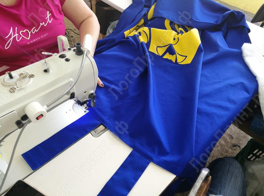 Пошив штор для примерочных магазина МЕГАХЕНД